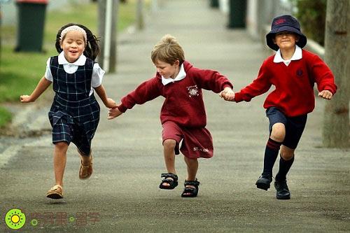 新西兰小学生